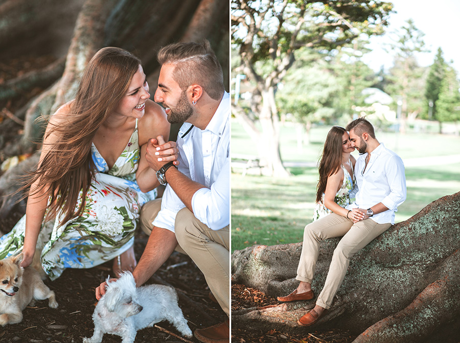 Elvira Azimova photographer engagement Australia Sydney