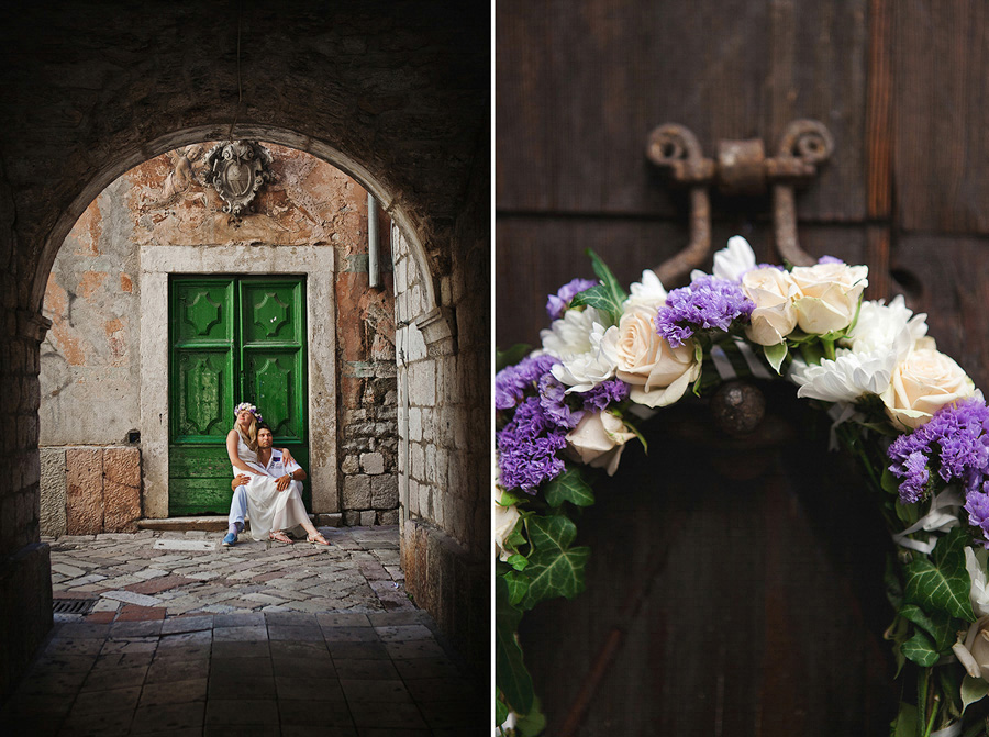 Elvira Azimova photographer wedding Montenegro